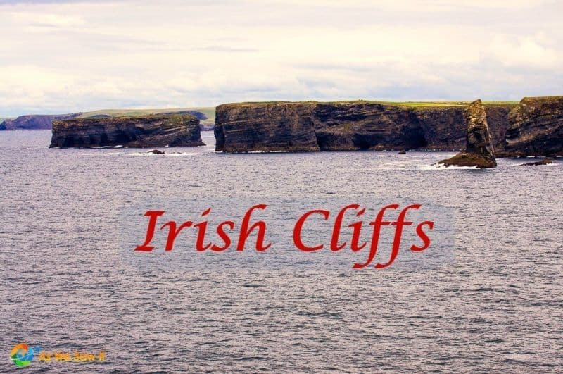 Irish cliffs at Loop Head make a good alternative to Cliffs of Moher