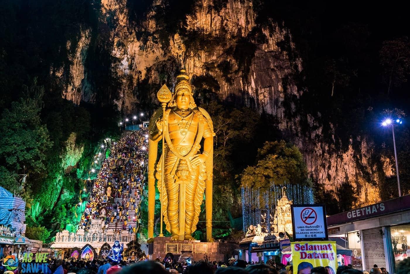 Thaipusam at Batu Caves, Kuala Lumpur, Malaysia