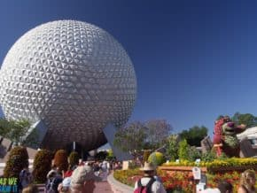 Planet Earth at Epcot Center, Florida