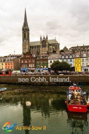 Cobh, embarkation point for Irish emigrants.