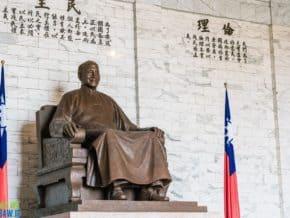 Chiang Kai-shek Memorial, Taipei, Taiwan